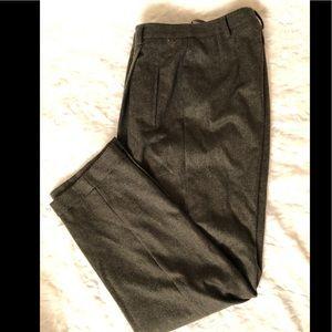 VTG Ellen Tracy Co. Hi-Rise Lined Wool Slacks